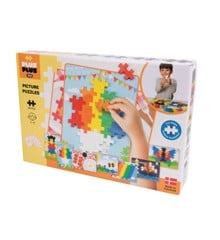 Plus Plus - BIG Basic - Picture Puzzel - 60 pcs (3280)