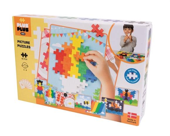 Plus Plus - BIG Basic - Picture Puzzle - 60 stk (3280)
