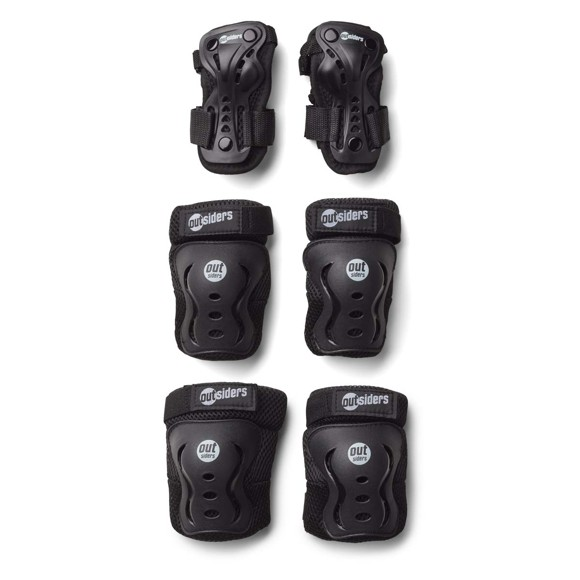 Outsiders - Deluxe Safety Equipment Set - Wrist, Knee, Elbow (S)
