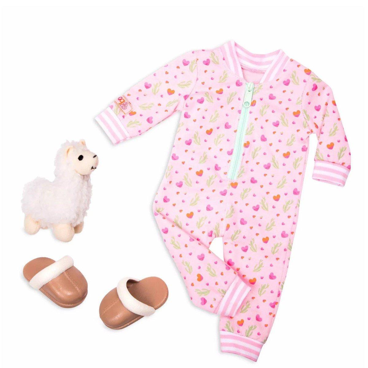 Our Generation - Kleidung - Schlafanzug Lamas