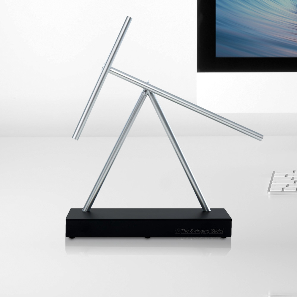 The Swinging Sticks - Kinetic Sculpture - Desktop Sized (04922)
