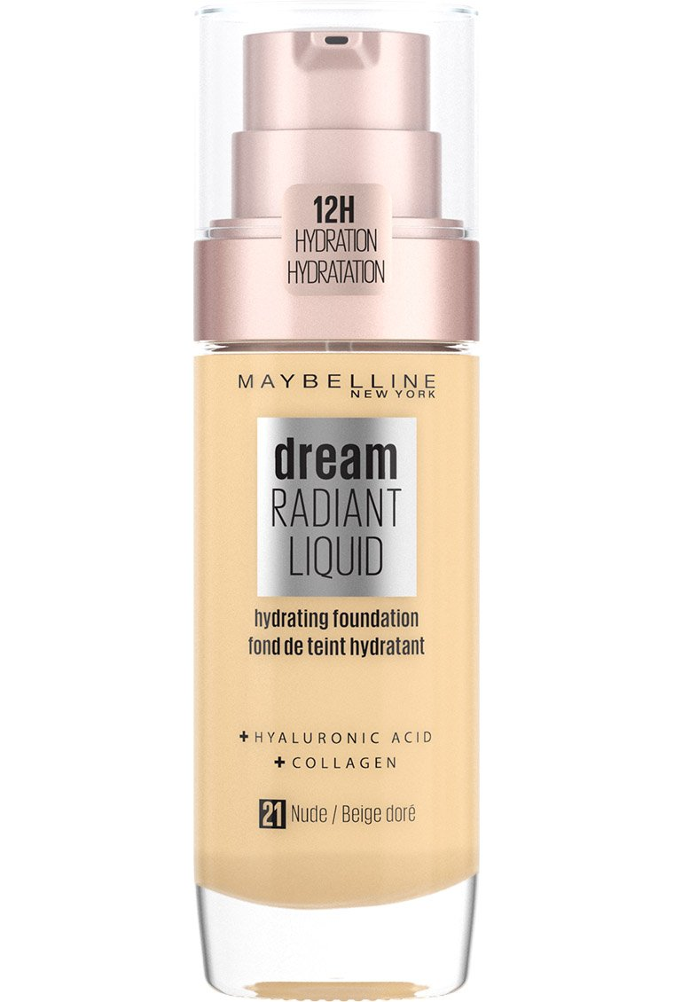 Maybelline - Dream Radiant Liquid Foundation - 21 Nude