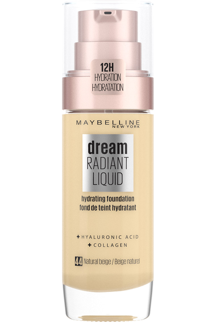 Maybelline - Dream Radiant Liquid Foundation - 44 Natural Beige