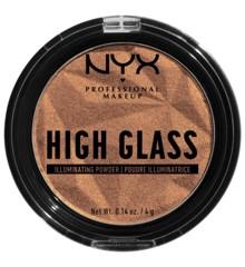 NYX Professional Makeup - High Glass Illuminating Powder - Golden Hour