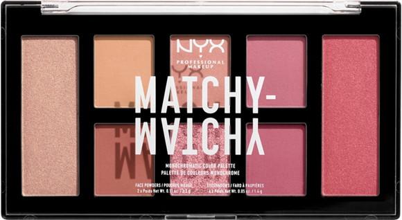 NYX Professional Makeup - Matchy Matchy Monocromatic Palette - Melon