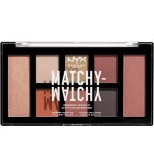 NYX Professional Makeup - Matchy Matchy Monocromatic Palette - Camel