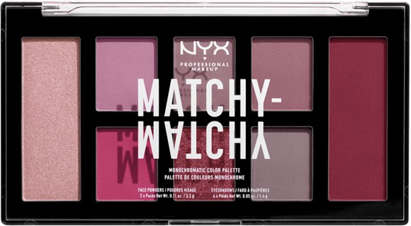 NYX Professional Makeup - Matchy Matchy Monocromatic Palette - Berry