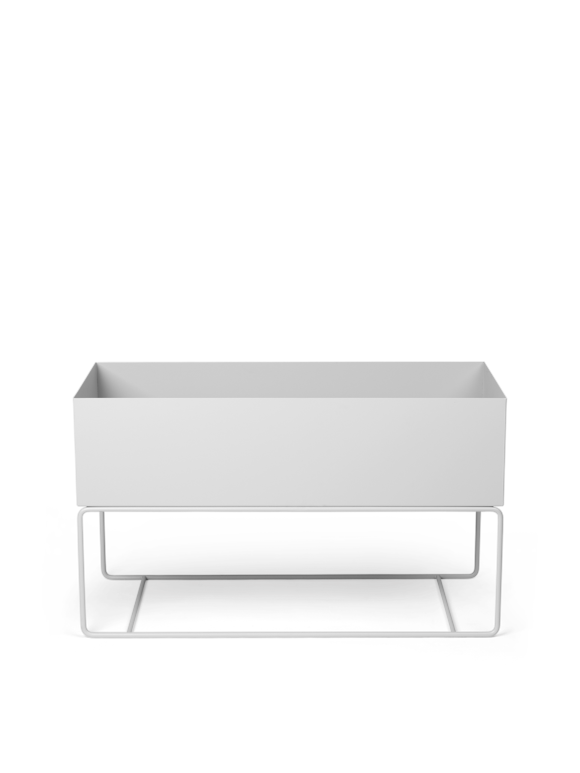 Ferm Living - Plant Box Large - Light Grey (110109102)