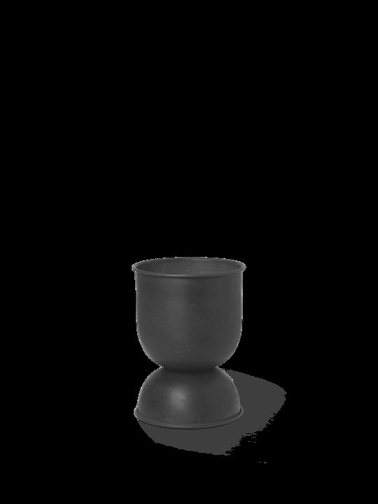Ferm Living - Hourglass Pot XS - Black (100709629)