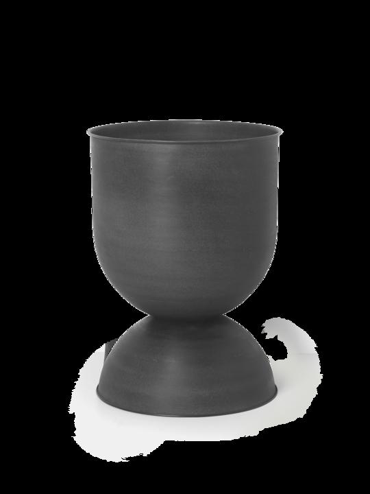 Ferm Living - Hourglass Pot Medium - Black (100130629)