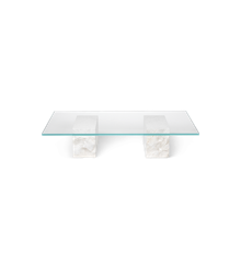 Ferm Living - Mineral Sofa Table - Bianco Curia (1101142824)