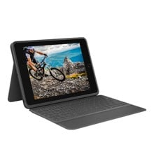 Logitech - Rugged Folio Cover iPad 10,2 Graphite