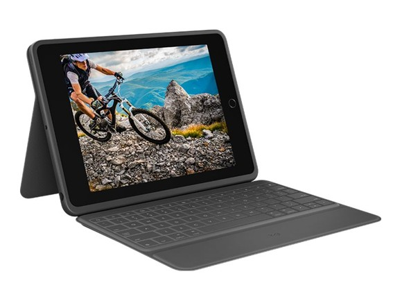 Logitech - Rugged Folio Cover iPad 10,2 Graphite