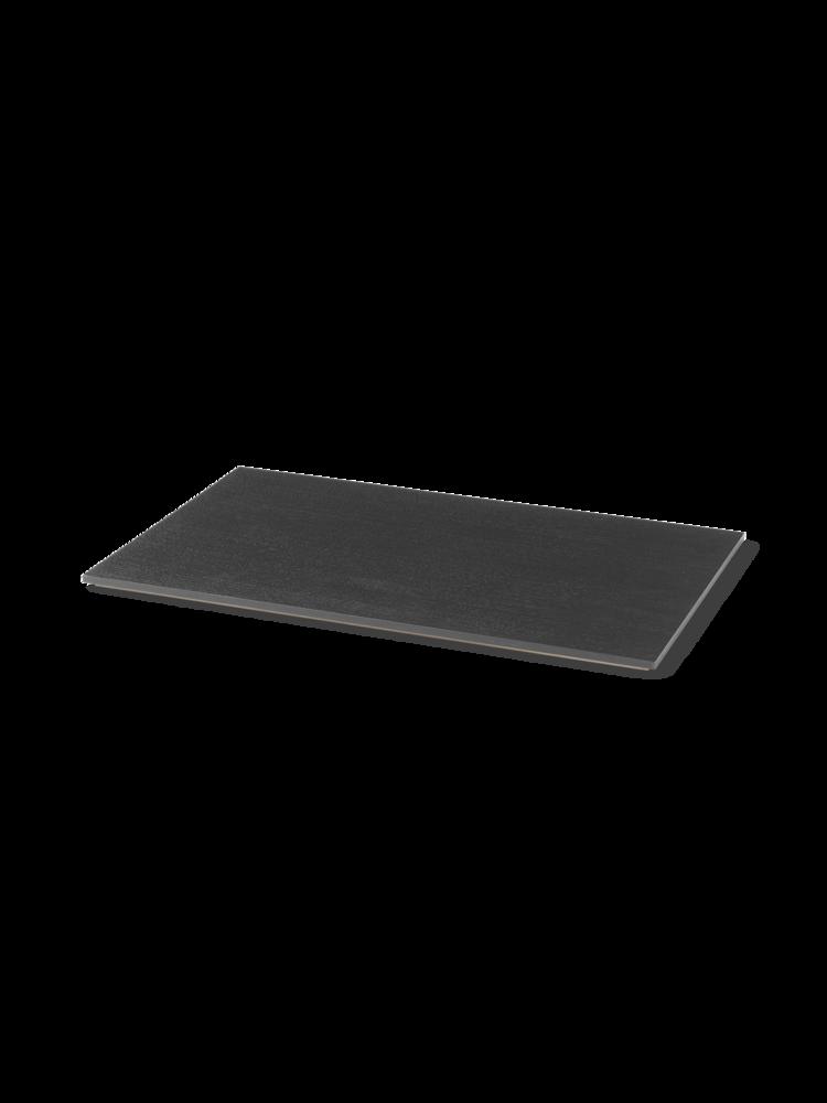 Ferm Living - Tray For Plant Box Wood Large - Black Oak Veneer (110220101)