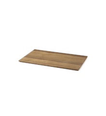 Ferm Living - Tray For Plant Box Wood Large - Røget Egefinér