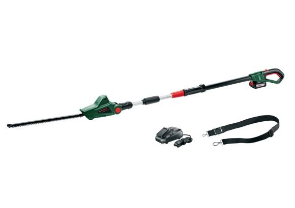 Bosch - Hækkeklipper til høje hække - Batteridrevet (Batteri & Lader inkluderet)