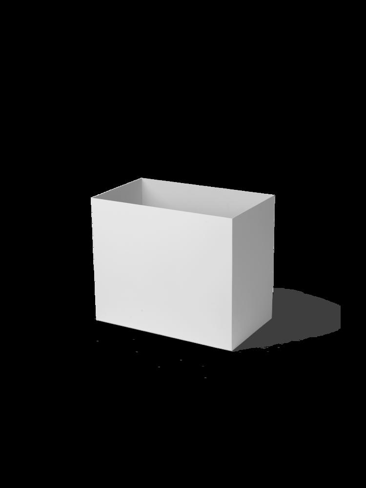 Ferm Living - Plant Box Pot Large - Light Grey (110145102)