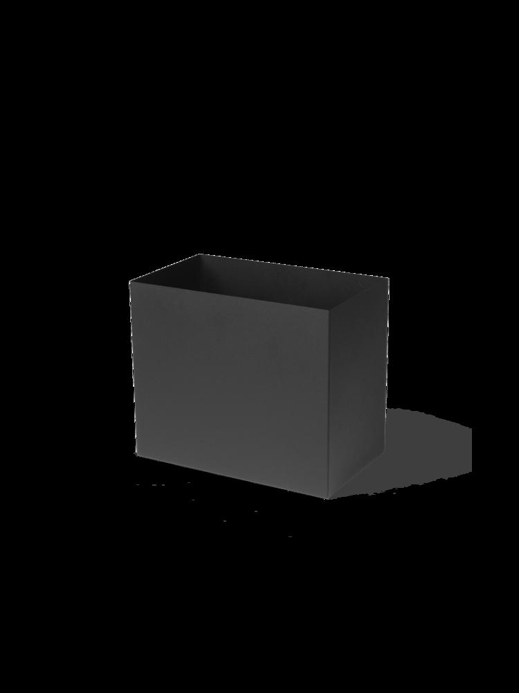 Ferm Living - Plant Box Pot Large - Black (110144101)