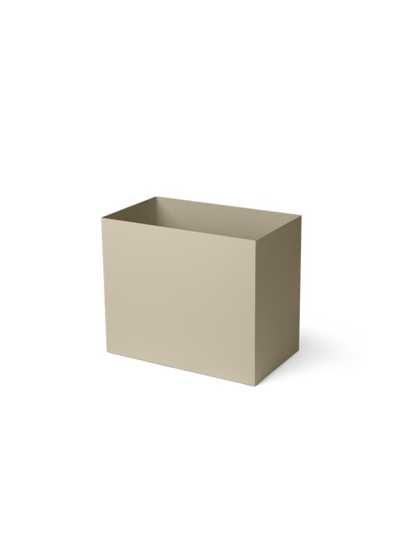 Ferm Living - Plant Box Pot Large - Cashmere (110146693)