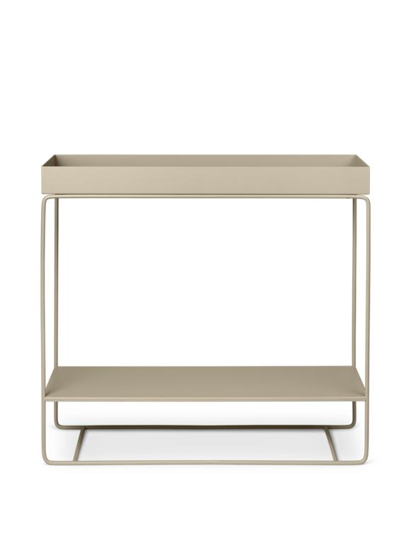 Ferm Living - Plant Box Two-Tier Table - Cashmere (110207693)