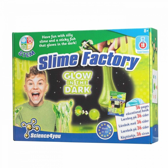 Science4You - Slime Factory Glow In the Dark (50-00546)
