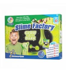 Science4You - Slime Factory - Selvlysende Slim