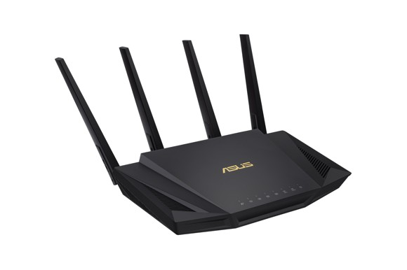 ASUS - RT-AX58U NORDIC WiFi router