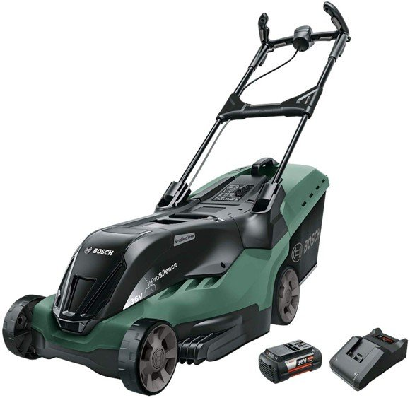 Bosch - Rotak 750 LI High Power Cordless lawnmower (Battery & Charger included)