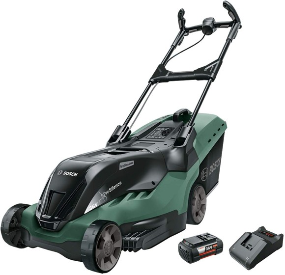 Bosch - Rotak 850LI High Power Cordless lawnmower (Battery & Charger included) (E)