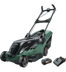 Bosch - Rotak 850LI Hochleistungs-Akku-Rasenmäher (Akku und Ladegerät enthalten)