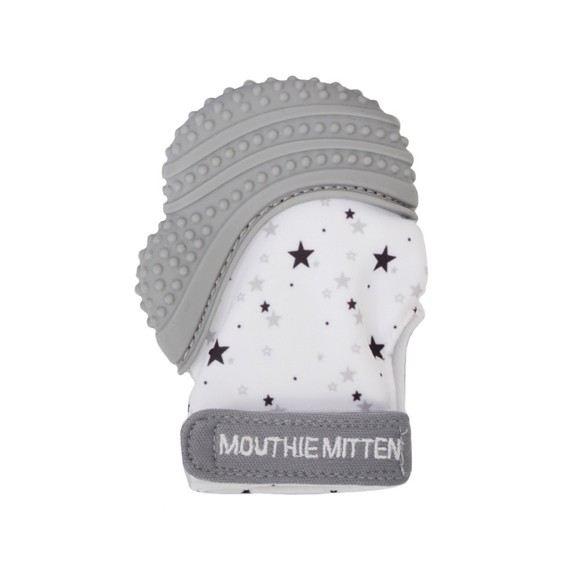 Mouthie Mitten - Grey (MK-MM08)