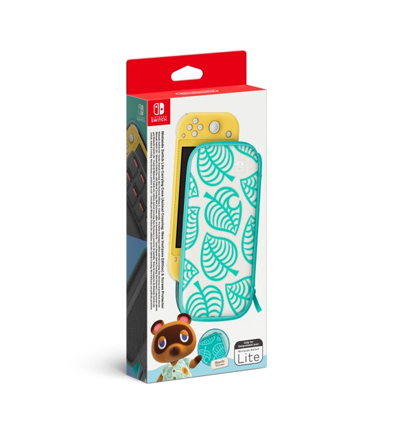 Nintendo Switch Lite Carrying Case with Animal Crossing: New Horizons theme