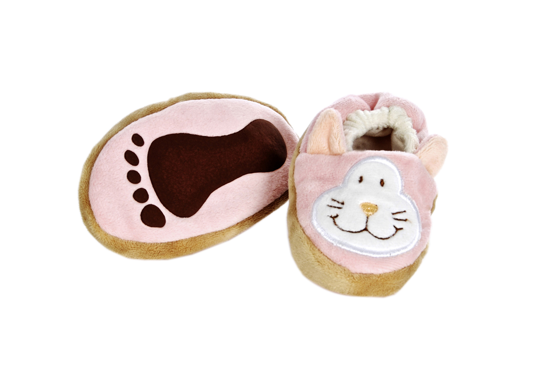 Diinglisar - Baby Slippers - Cat (TK16371)