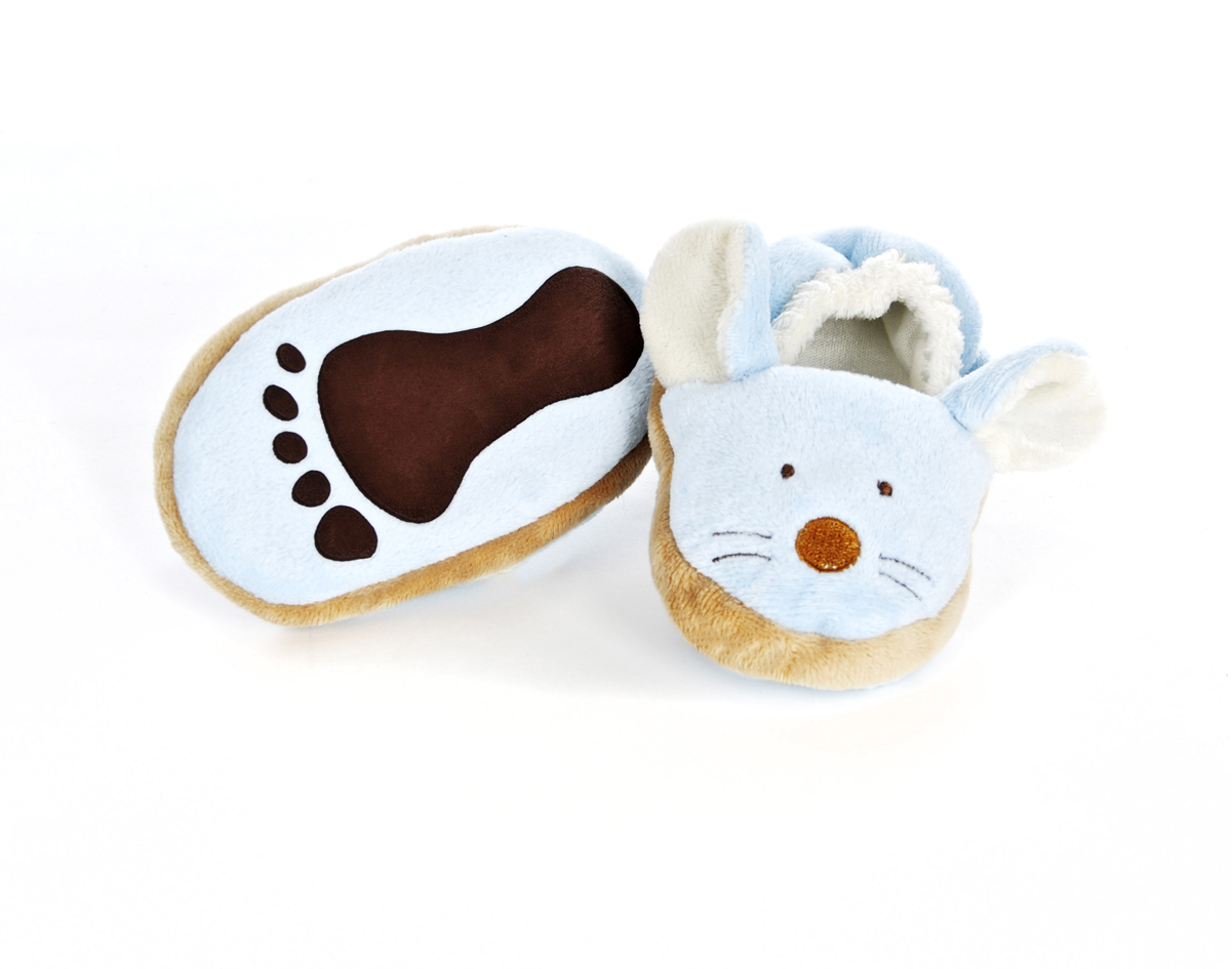Diinglisar - Baby Slippers - Mouse (TK16374)