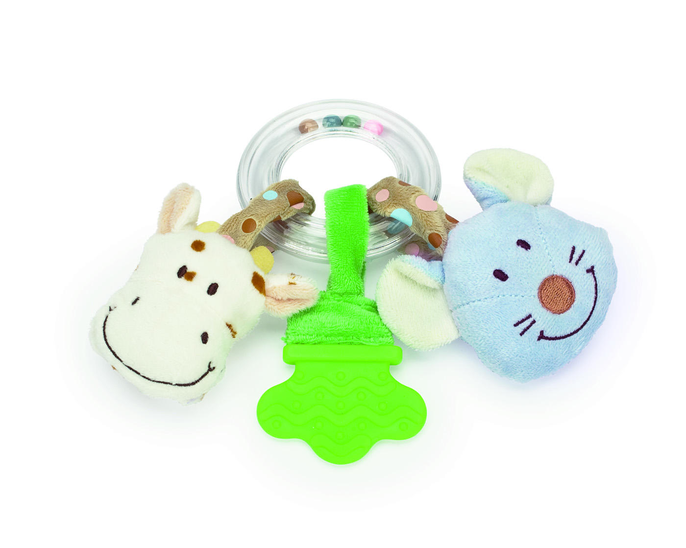 Diinglisar - Ringrattle - Cow & Mouse (TK2057)