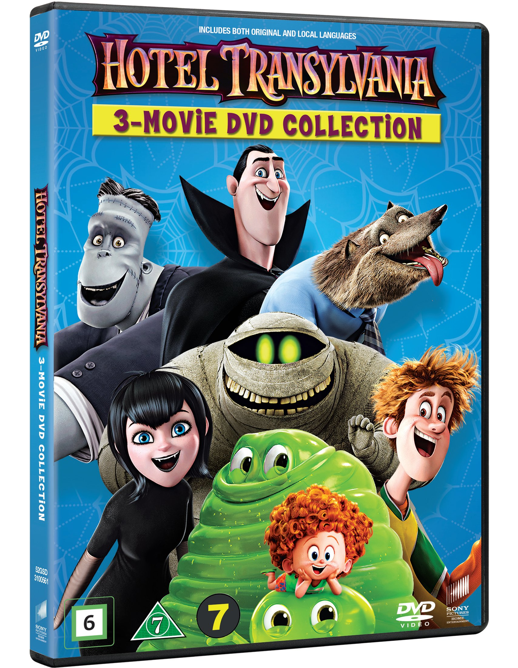 Hotel Transylvania 1-3 - DVD