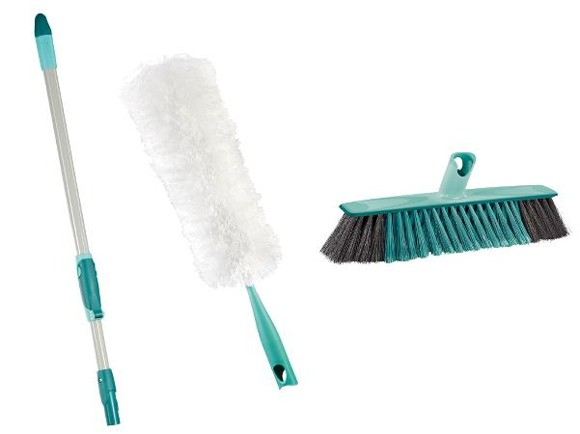 Leifheit - Click Cleaning Kit Dust/Sweep 3 Pcs (11380)