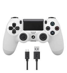 New Sony Dualshock 4 Ohjain v2 - Valkoinen