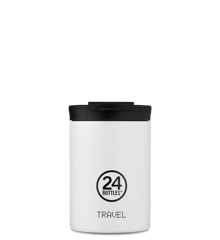 24 Bottles - Travel Tumbler 0,35 L - Ice Hvid