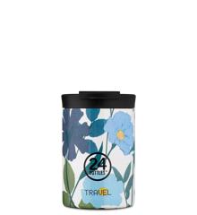24 Bottles - Travel Tumbler 0,35 L - Morning Glory (24B617)
