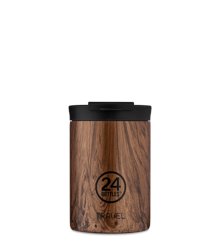 24 Bottles - Travel Tumbler 0,35 L - Sequoia Træ Print