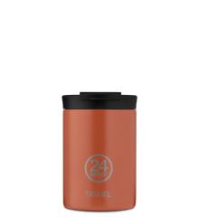 24 Bottles - Travel Tumbler 0,35 L - Sunset Orange (24B607)