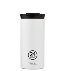 24 Bottles - Travel Tumbler 0,6 L - Ice White (24B652)