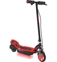 Razor - Power Core E90 Glow Elektrisk Løbehjul - Sort/Rød