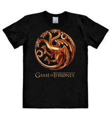 Game Of Thrones - Targaryen Dragons - Easyfit - black - Original licensed product