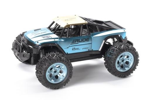 TechToys - R/C Rude Off-Road 1:12 2,4GHz - Metallic Blue (534615)