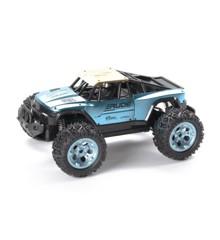 TechToys - R/C Rude Off-Road Fjernstyret Bil 1:12 2,4GHz - Metallic Blå