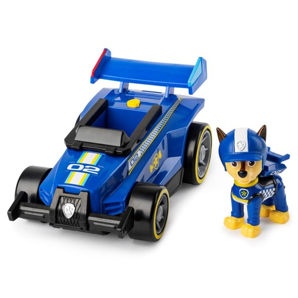 Paw Patrol - Race & Go Deluxe Køretøj - Chase