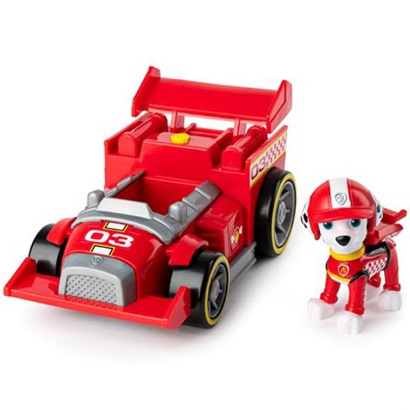 Paw Patrol - Race & Go Deluxe Køretøj - Marshall