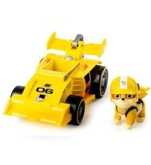 Paw Patrol - Race & Go Deluxe Køretøj - Rubble